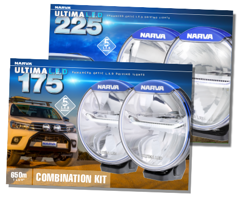 Ultima 175 and 225 LED Driving Lights